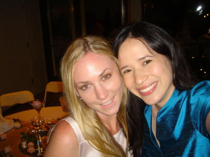 2004 July Bridget & Kim