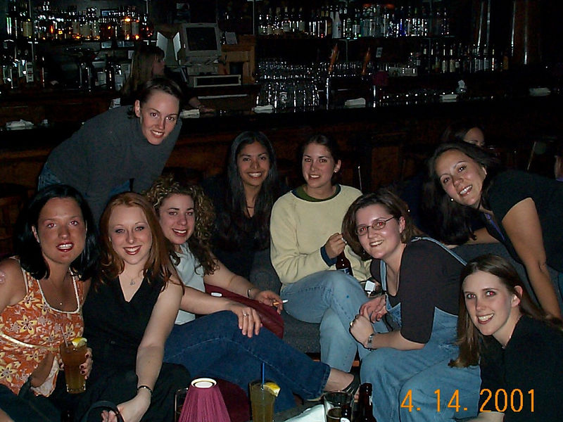 All of the girls 04-14-01