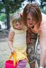 04 20 11 Jonah's preschool egg hunt-9137