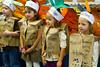 11 17 11 Gecko class Thanksgiving pie day-9846