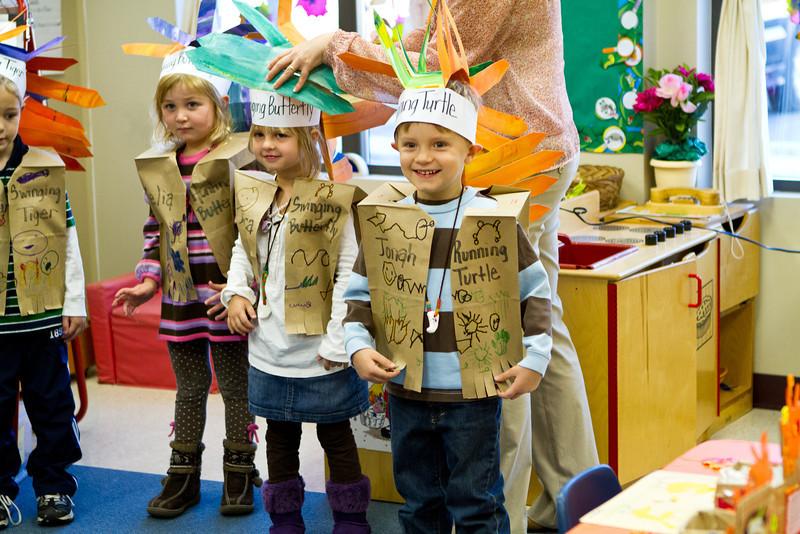 11 17 11 Gecko class Thanksgiving pie day-9835