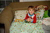 05 13 11 Daddy Jonah Sleepover Pillow Fort-5143