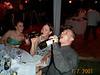 Corinne, Brooke & Dave drinking