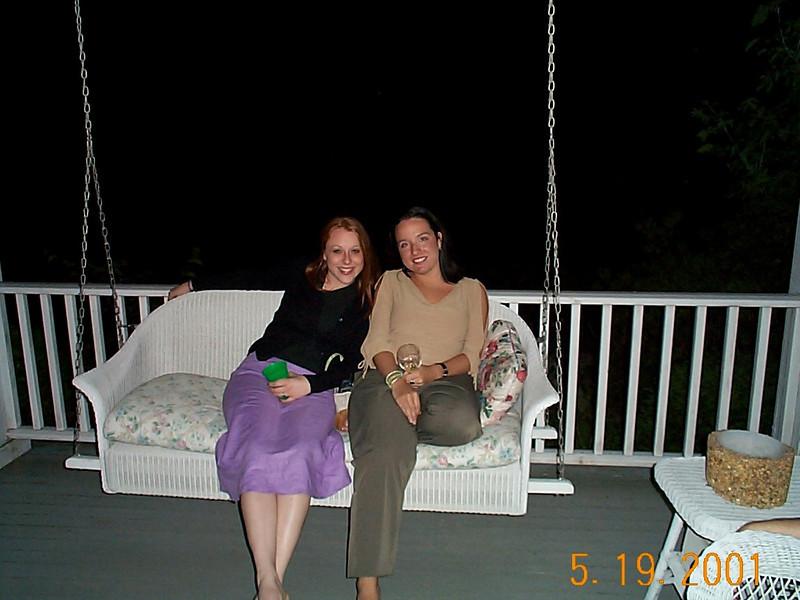 Corinne & Mandy 05-19-01