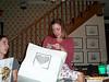 Katie opening bag with bottle opener 05-19-01