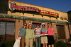 The girls outside of Portillo's... what a fun dinner!