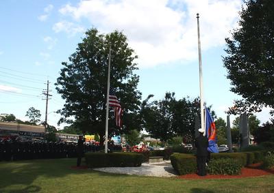 Hackensack Fire Department Memorial Services 7-1-11
