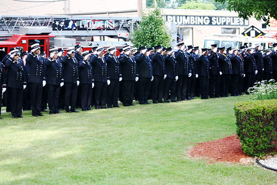 Hackensack Fire Department Memorial Services 7-1-11