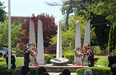 Hackensack Fire Memorial Services 7-1-16