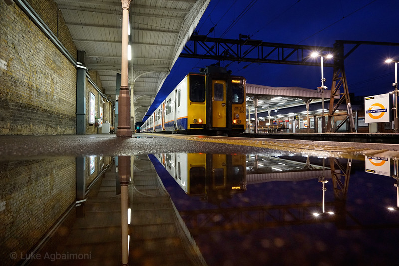 Hackney Downs Station nts