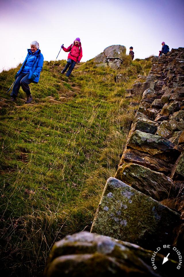 Hadrian's Wall, Walkers