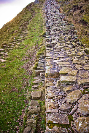 Hadrian's Wall looking West