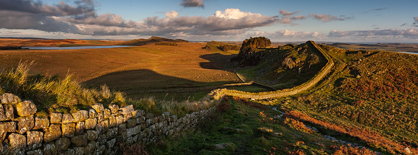 Hadrian's Wall and Angel of the North
