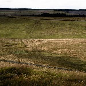 North from Hadrian's Wall, Hotbank/Highshield, Northumberland UK