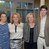 Sara Michael Nicholson and Tara Hagerty with Debra and Sam Nicholson.