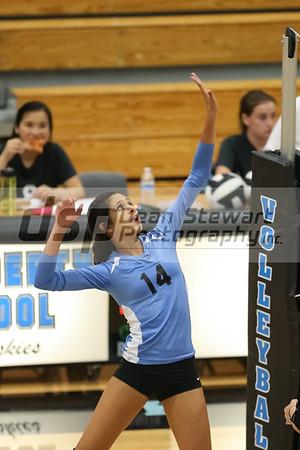 9-26-16 Hagerty Girls Varsity Volleyball vs LBHS