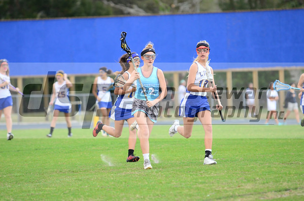 Hagerty Girls JV Lacrosse vs Lyman 3-17-16
