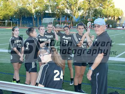 Hagerty JV Girls Soccer 12-13-16
