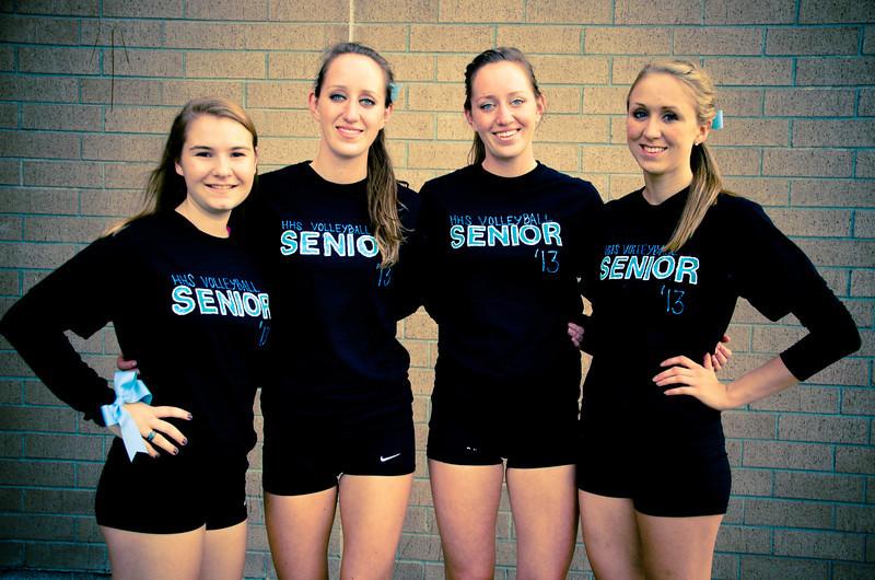 2012 Varsity Women's Volleyball
