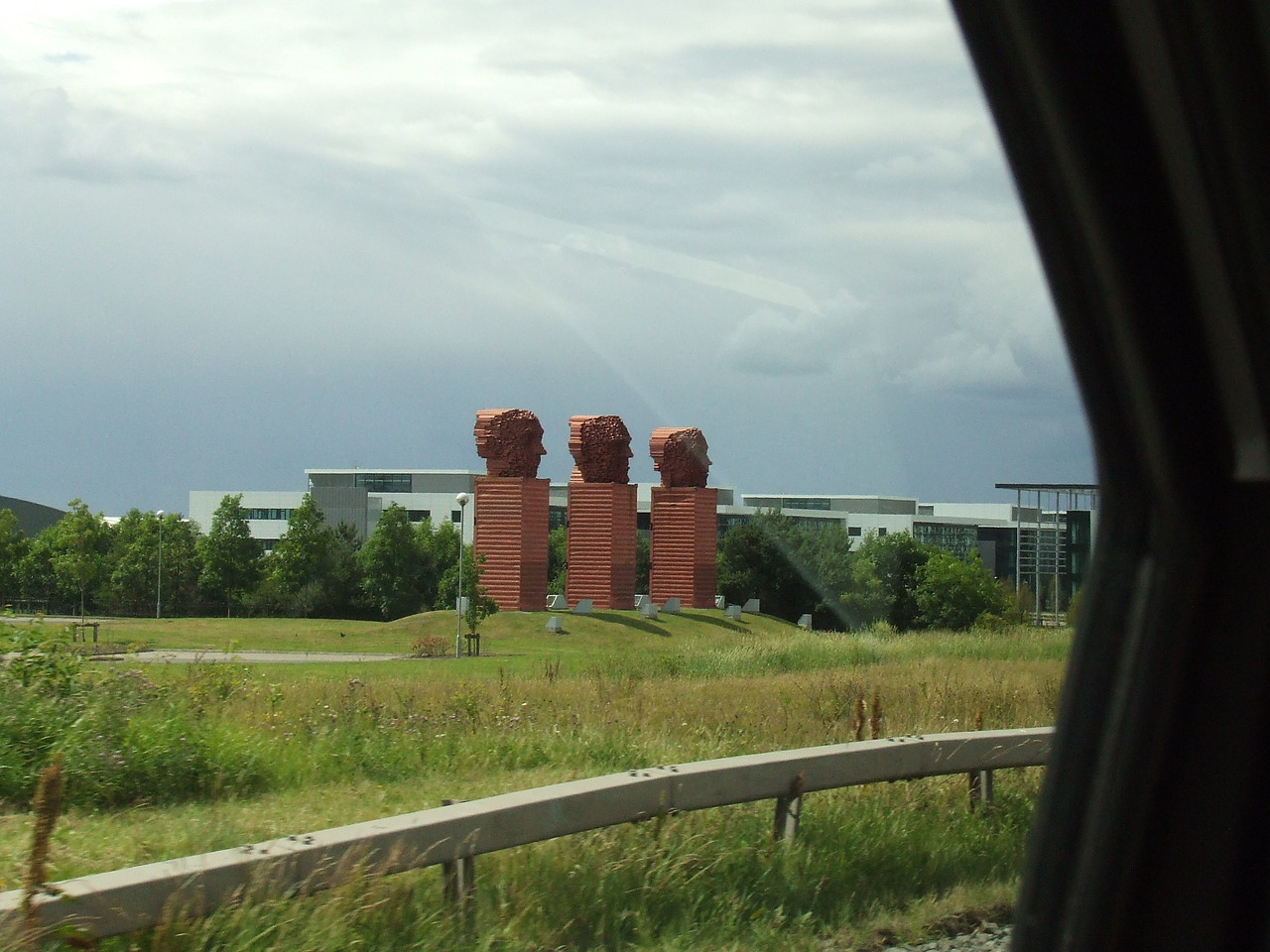 Passing by one of the many weird structures that dot the M8 in Cumbernauld