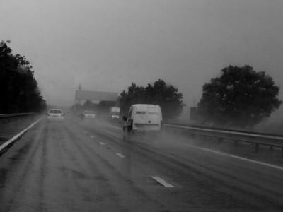 Back home again right enough! Rain!