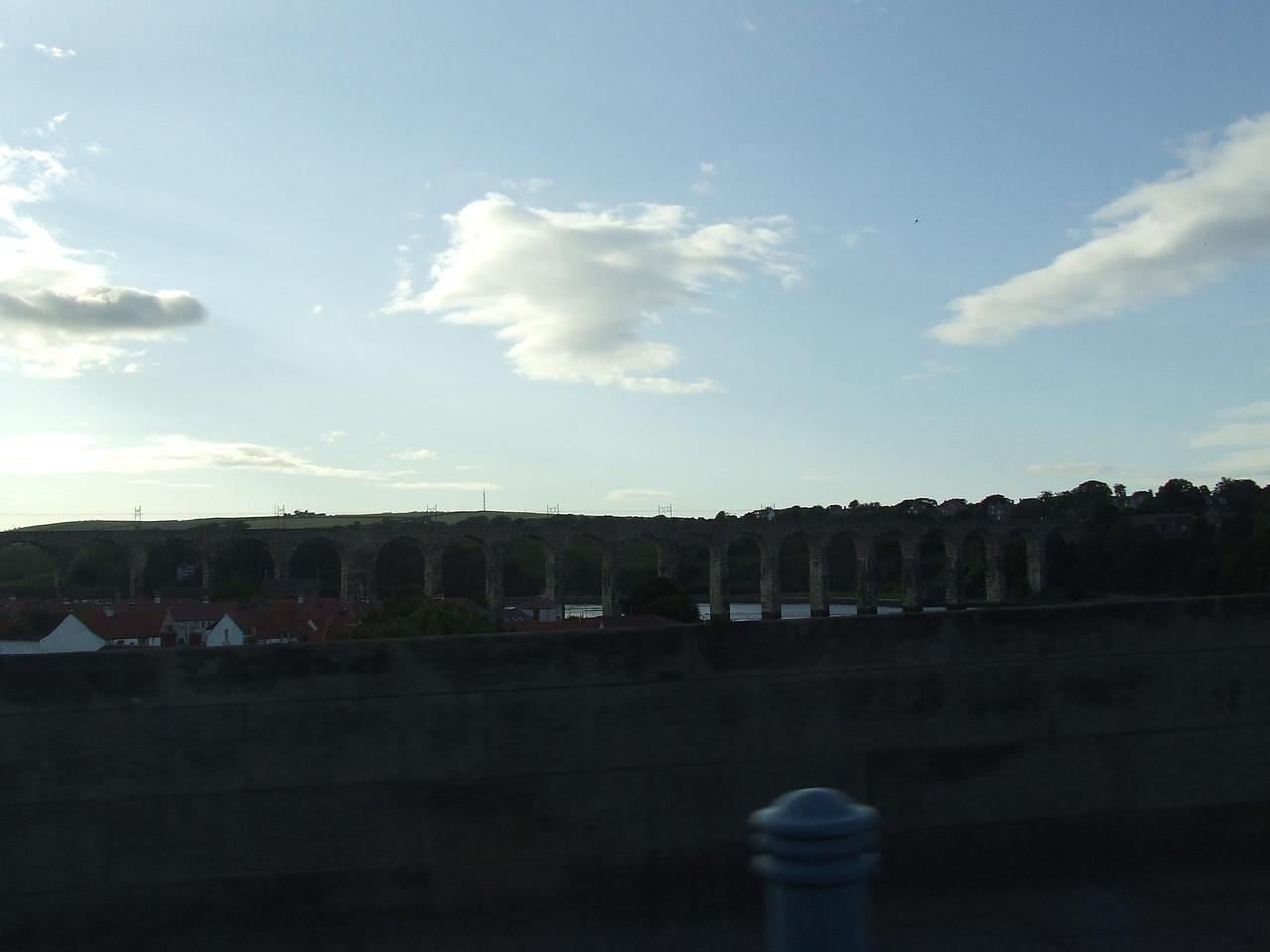 Royal Border Bridge in Berwick