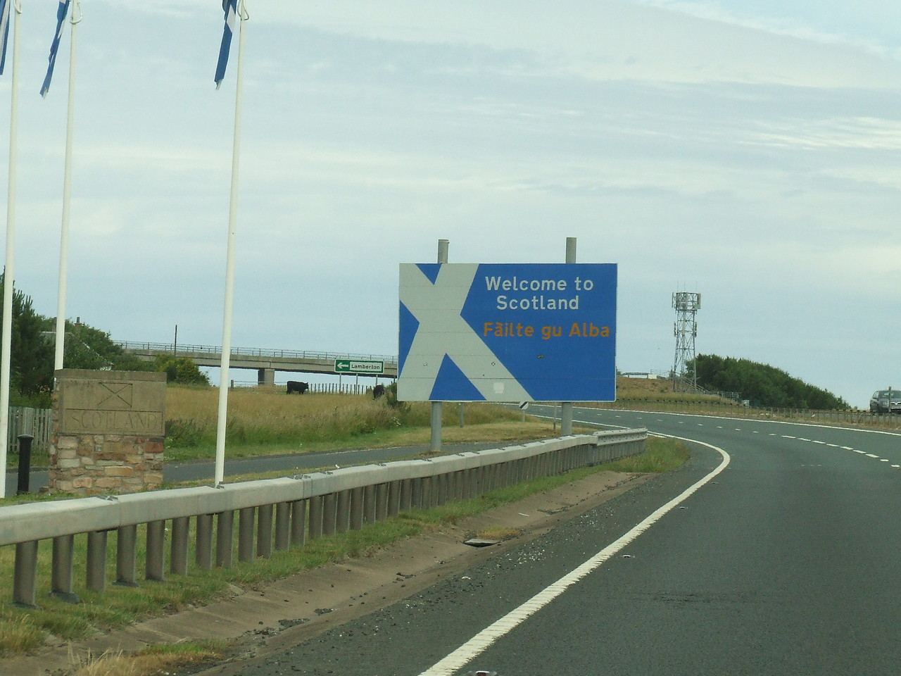 Back to Scotland again!