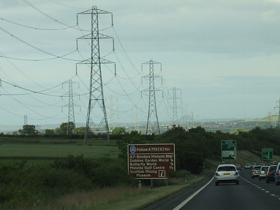 Heading South in Edinburgh on the A1