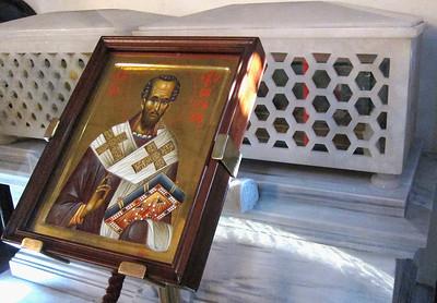 St. John Chrysostom reliquary