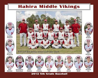 2012 HMS 8th Baseball