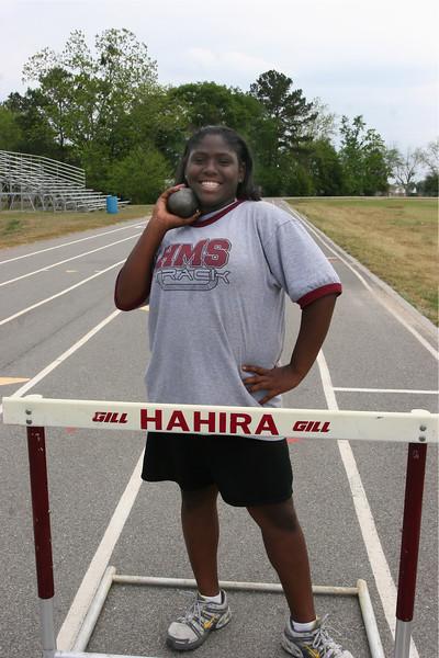 2007 Hahira Middle Girls Track