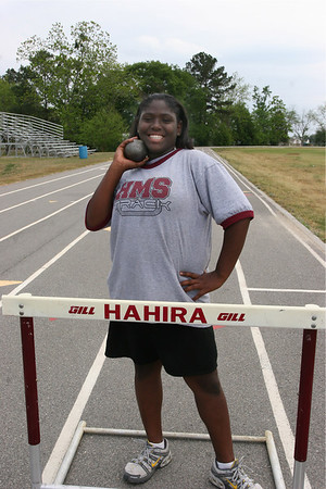2007 Hahira Middle Girls Track