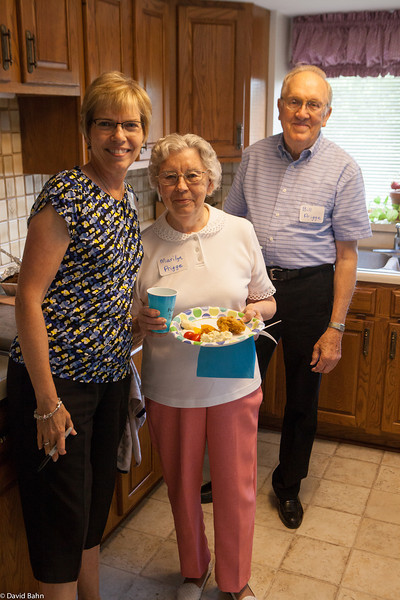 Diane with her aunt and uncle Marilyn & Bill Prigge