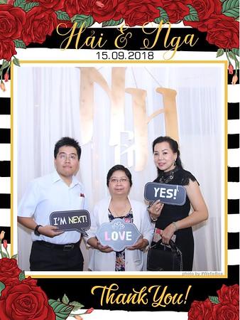 Hai & Nga Wedding Photobooth - Chụp hình in ảnh lấy li�n Tiệc cưới
