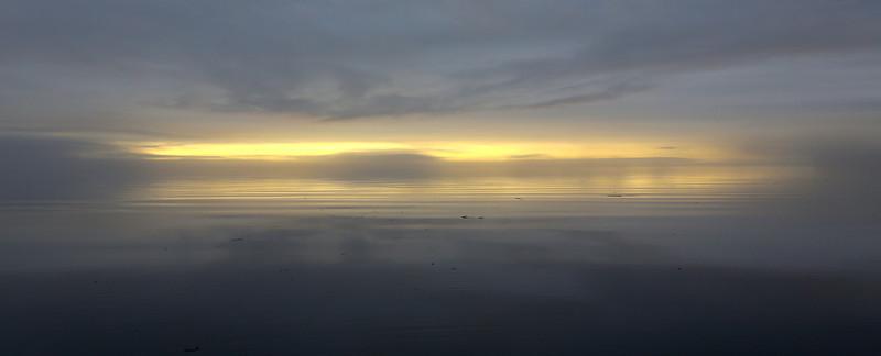Morning light in Cumshewa Inlet