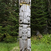 Mortuary pole at Sgang Gwaii (Ninstints)