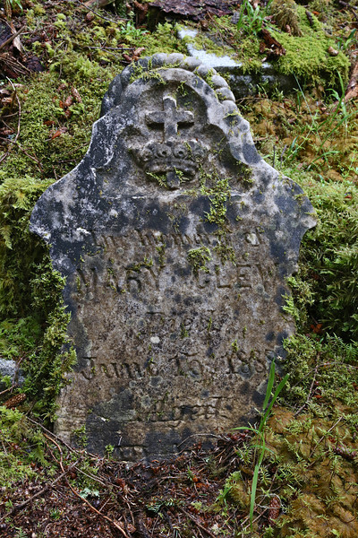 Gravestone at New Clew