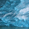 Detail of an iceberg in LeConte Bay
