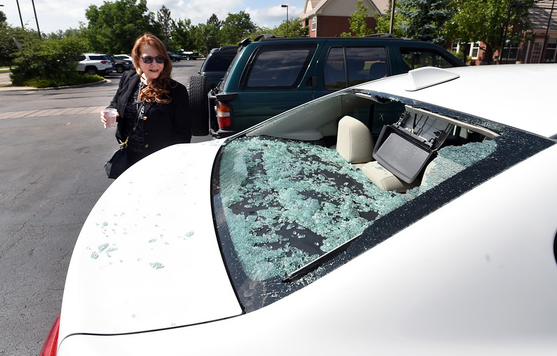 Hail Damage in Louisville