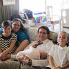 Hailee meets the Pertab Family.  Jon Pertab is one of my classmates and I LOVE his family!