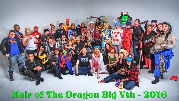 Hair of The Dragon - Big Vth - April 2016