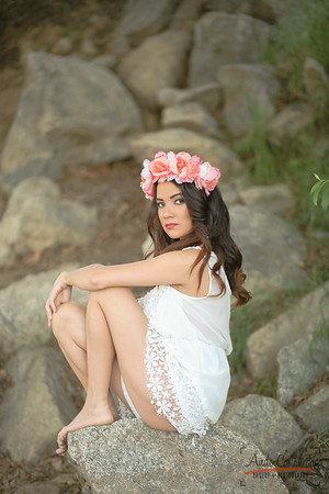 Model: Sarah Alysse Hair, makeup & photo: Ande Castaneda