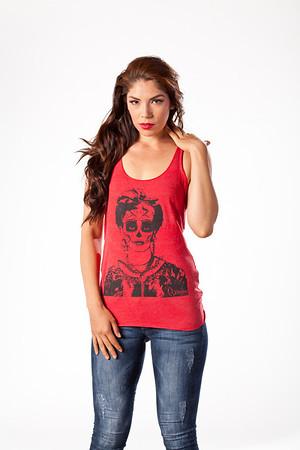 Model: Jessica Madera Wardrobe & Styling: Paulina Clothing Photographer: Arturo Nevarez HMUA: Ande Castaneda
