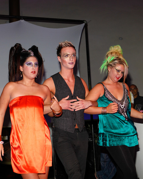 Melville, New York - June : Adelina Hair Design Preforms the 30 at Four Hair Salon Competition Hosted By Richard Jay on June 13, 2011 in Melville, New york. (Photo by Nicolai Patrick/In House Image)
