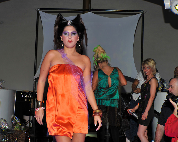 Melville, New York - June : Adelina Hair Design Preforms the 30 at Four Hair Salon Competition Hosted By Richard Jay on June 13, 2011 in Melville, New york. (Photo by Joseph Bellantoni/In House Image)