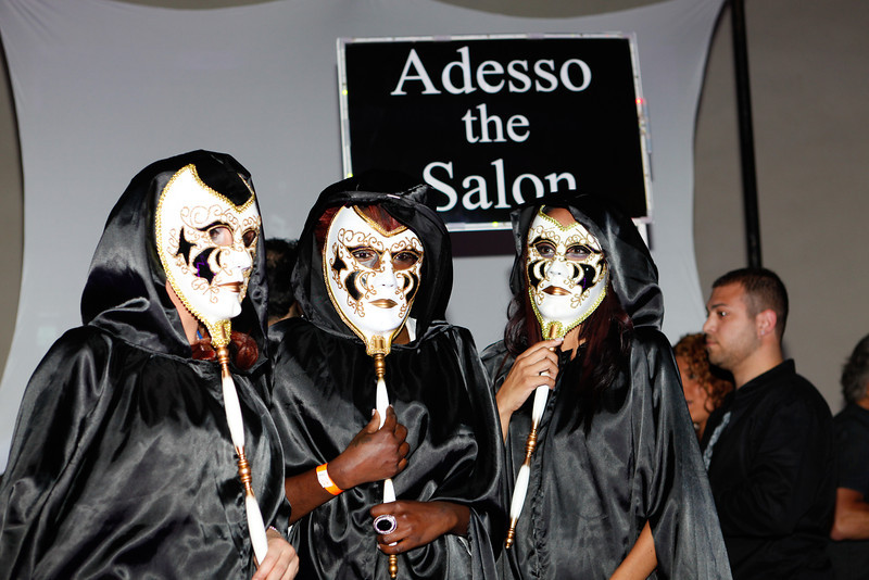 Melville, New York - June : Adesso Salon Preforms the 30 at Four Hair Salon Competition Hosted By Richard Jay on June 13, 2011 in Melville, New york. (Photo by Nicolai Patrick/In House Image)