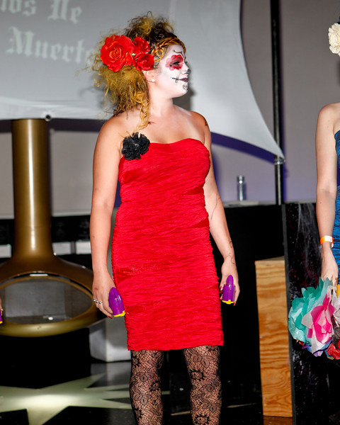 Melville, New York - June : Calori Bella Preforms the 30 at Four Hair Salon Competition Hosted By Richard Jay on June 13, 2011 in Melville, New york. (Photo by Nicolai Patrick/In House Image)