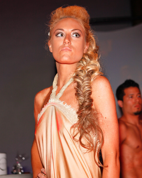 Melville, New York - June : De La Mer Preforms the 30 at Four Hair Salon Competition Hosted By Richard Jay on June 13, 2011 in Melville, New york. (Photo by Nicolai Patrick/In House Image)