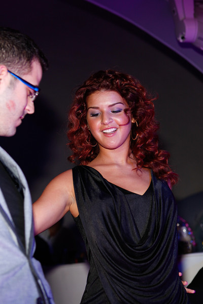 Melville, New York - June : Denise Lee Preforms the 30 at Four Hair Salon Competition Hosted By Richard Jay on June 13, 2011 in Melville, New york. (Photo by Nicolai Patrick/In House Image)