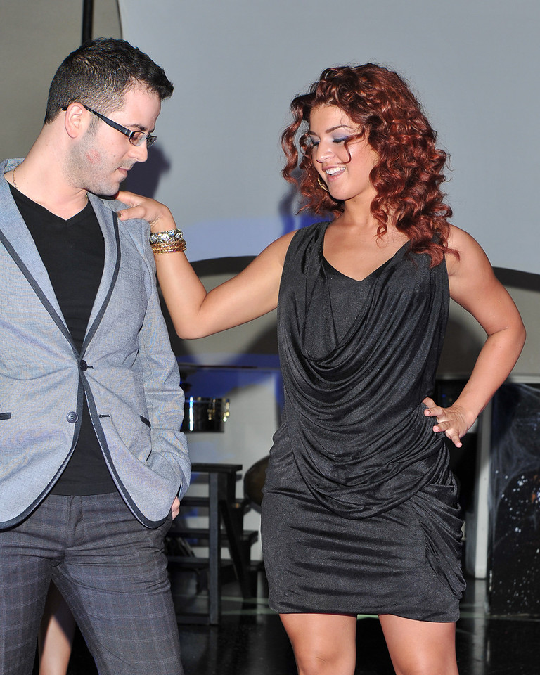 Melville, New York - June : Denise Lee Preforms the 30 at Four Hair Salon Competition Hosted By Richard Jay on June 13, 2011 in Melville, New york. (Photo by Joseph Bellantoni/In House Image)